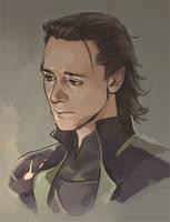 Loki by Hallpen
