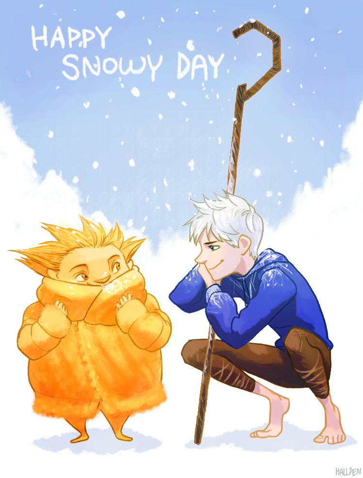 Happy Snowy Day by Hallpen