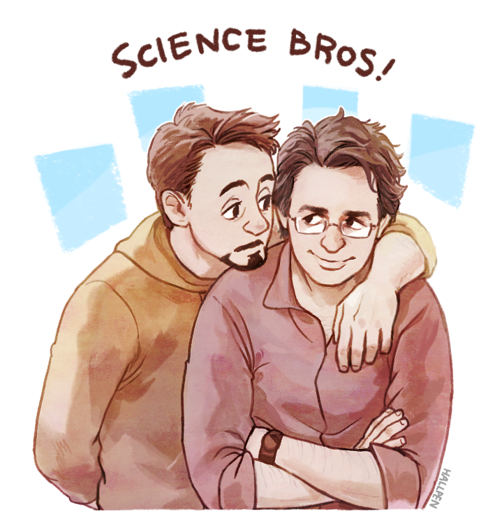 science bros by hallpen on deviantart