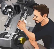 Fix and Clean up DUM-E by Hallpen