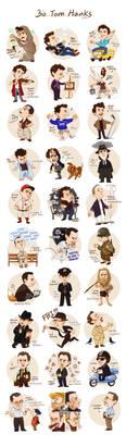 30 Tom Hanks