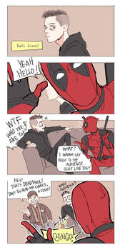 Mr.Robot n Deadpool