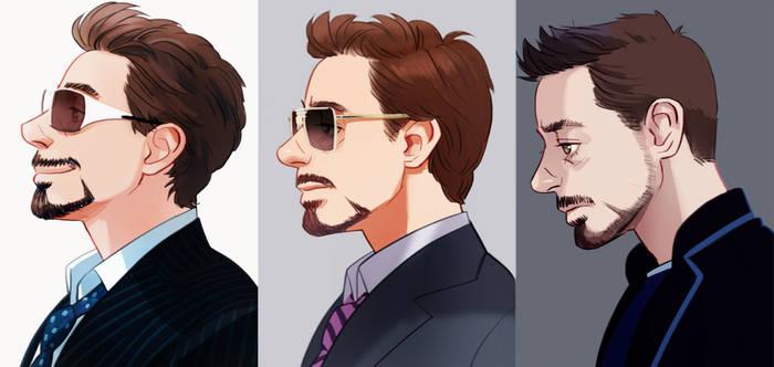 Iron man 1,2,3