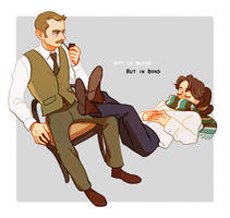 Not in blood, but in bond by Hallpen