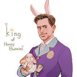 King of Honey Bunnies by Hallpen