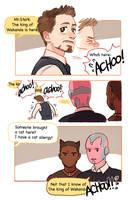 Tony's cat allergy by Hallpen