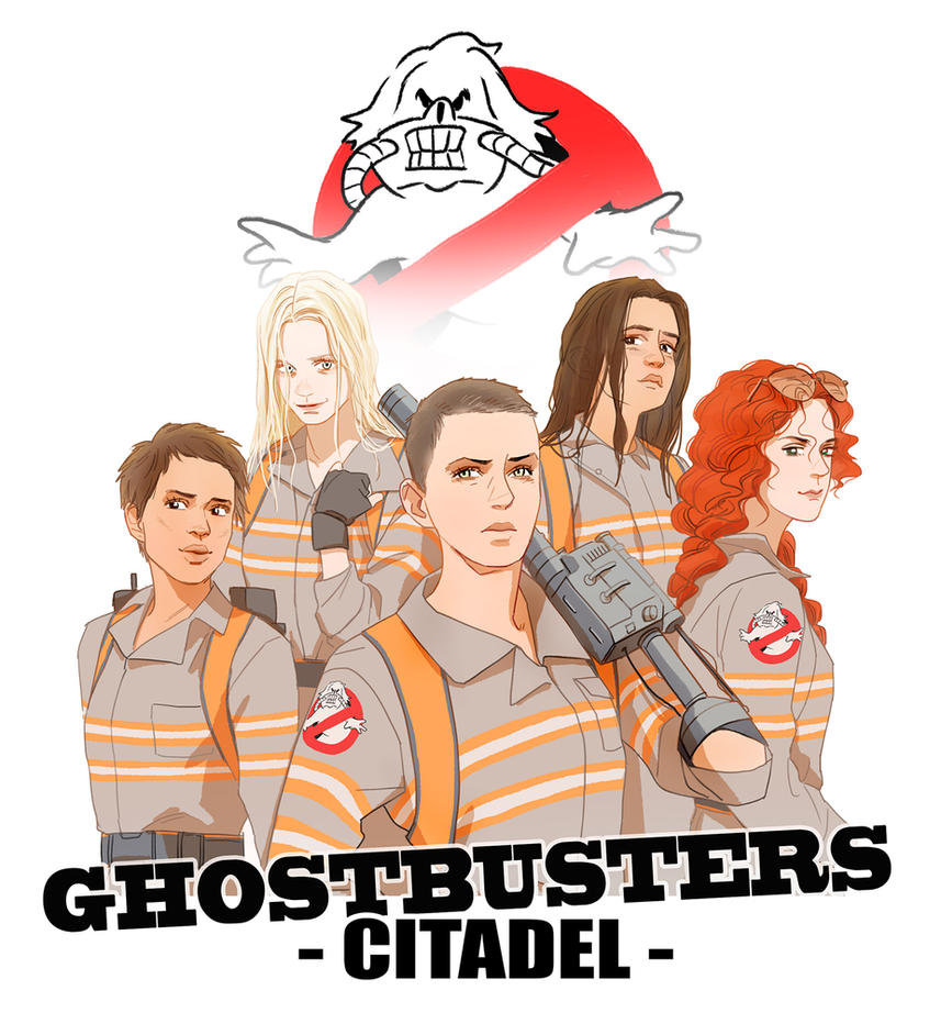 Ghostbusters :Citadel by Hallpen