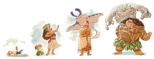 Moana x Pokemon