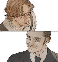 Sherlock Holmes 3: End of Watson's patience by Hallpen