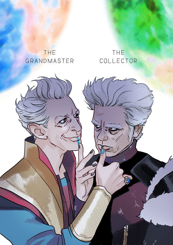 The Grandmaster and The Collector by Hallpen