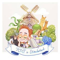 RDJ in Wonderland by Hallpen