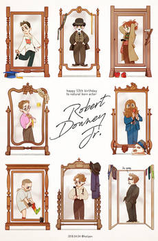 Happy 53th B-day to Robert Downey Jr.
