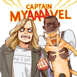 CAPTAIN MyaaAAAVEL by Hallpen