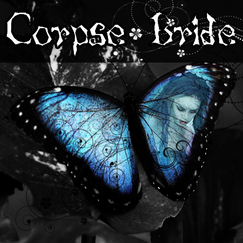 Corpse bride Butterfly by elianadgrtrofzeus