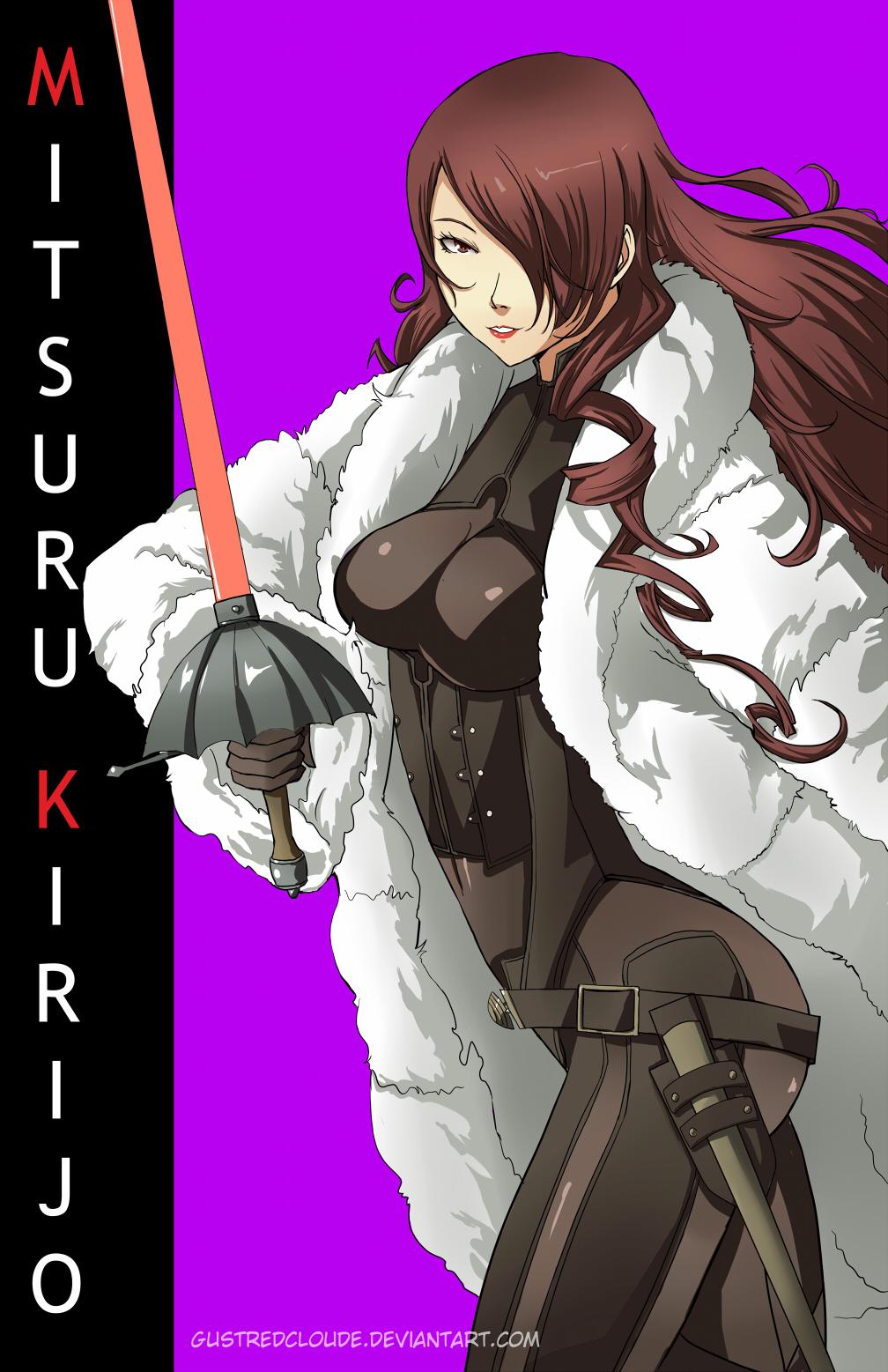 Dat Mitsuru by gustredcloude