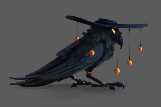 Mr.Dark as a crow