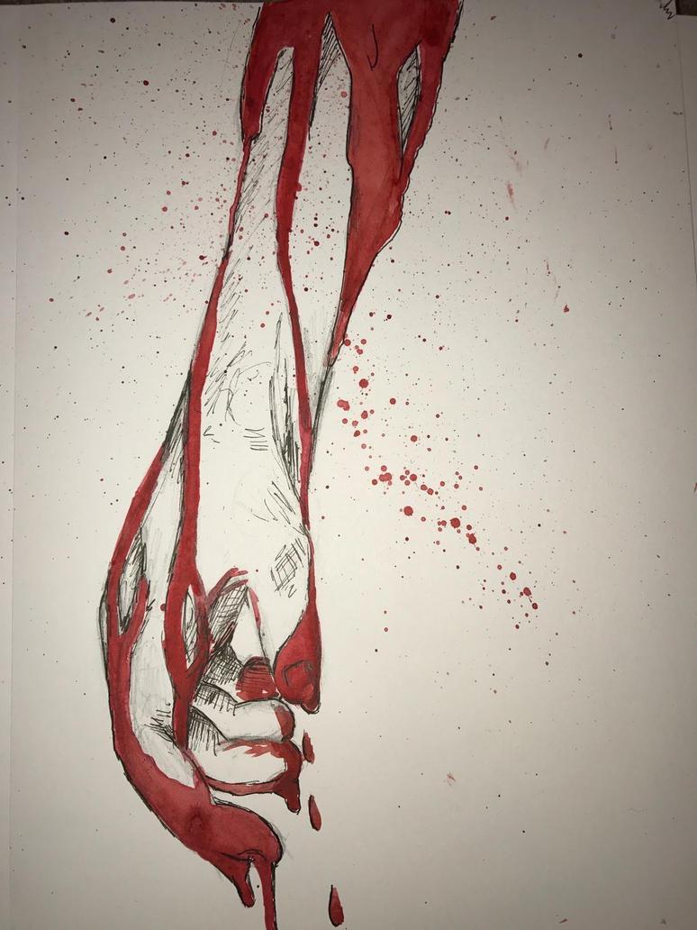 Blood On Your Hands. by jesseline101 on DeviantArt
