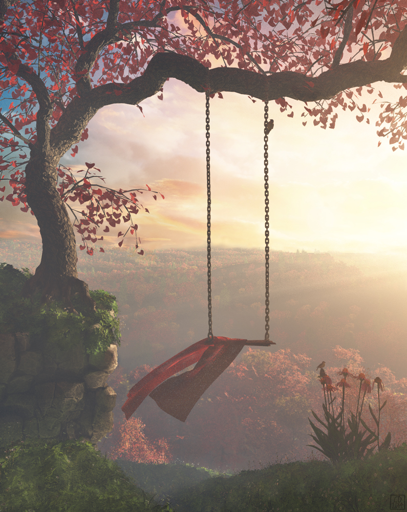 Tree Swing by curious3d