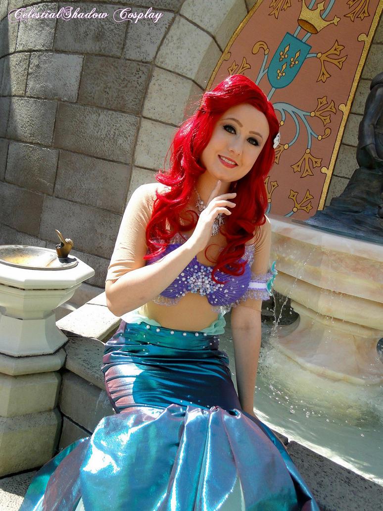 Ariel at Tokyo Disneyland 3 by CelestialShadow19