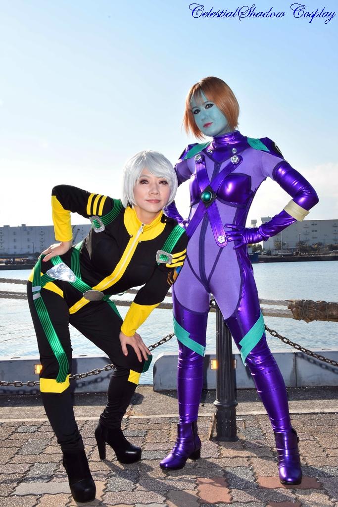 Melda And Akira by CelestialShadow19
