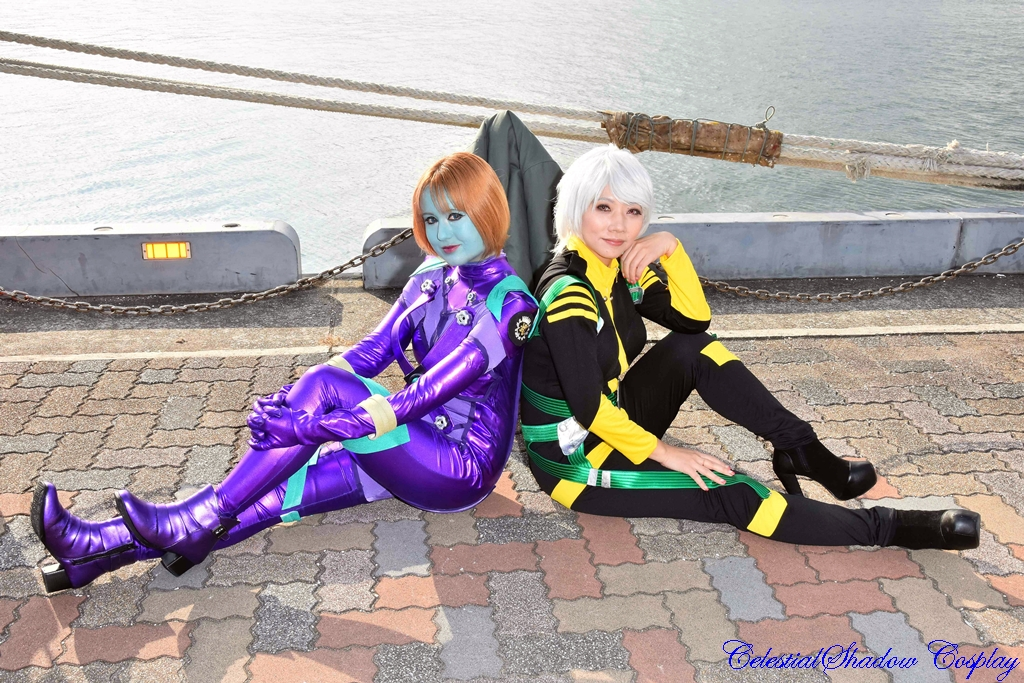 Melda and Akira 2 by CelestialShadow19