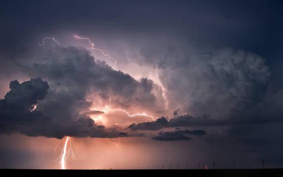 Lightning Storm over Oklahoma