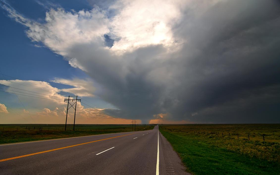 Tornado Road by MattGranzPhotography