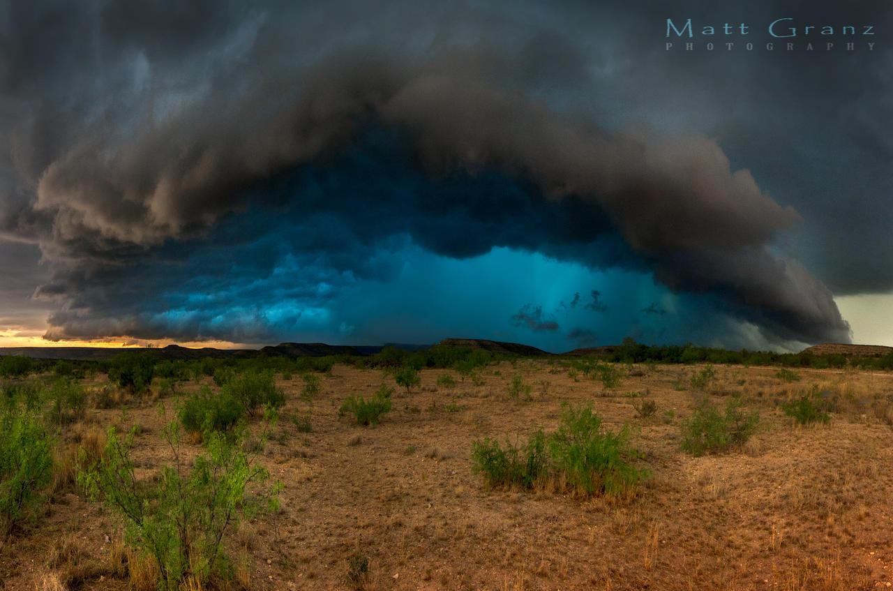 Riding the Blue Core by MattGranzPhotography