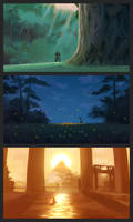 Color Studies - Ghibli Movies and Journey