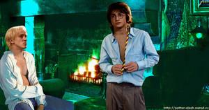 Harry Potter and Draco Malfoy.