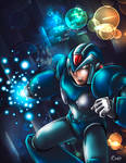 X-Buster - Charge up! -