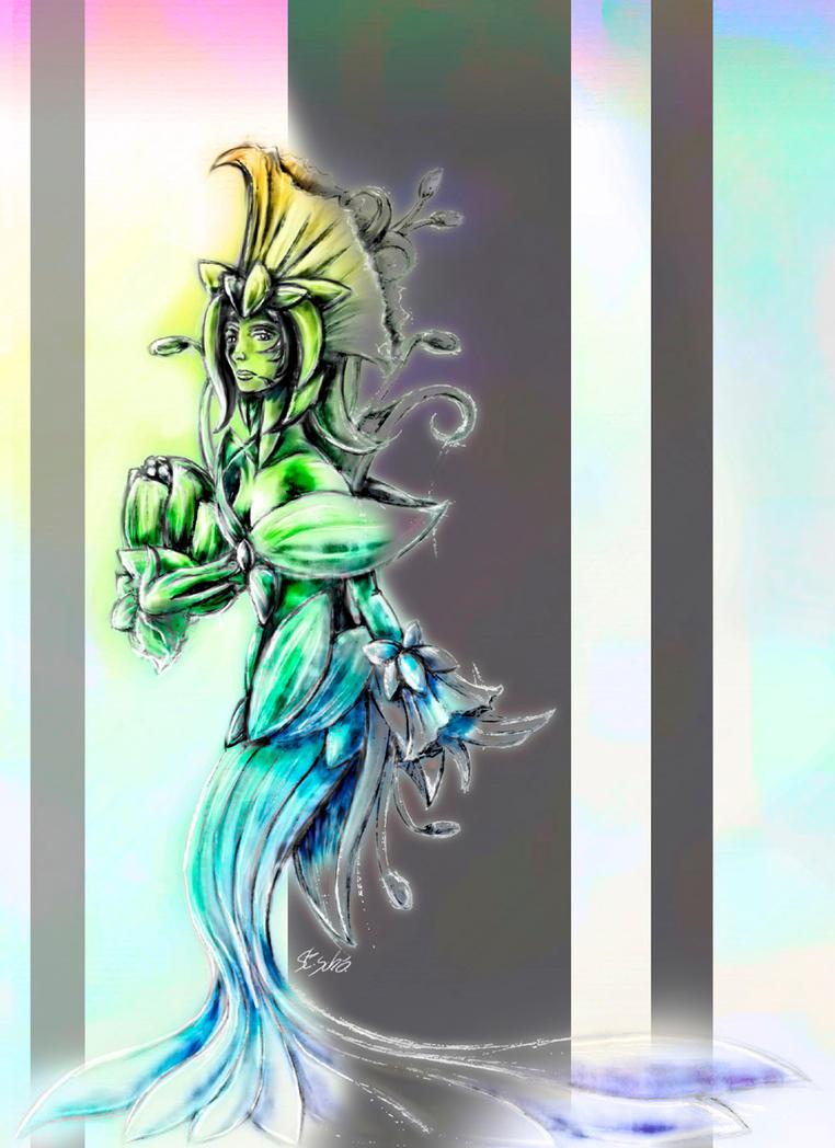 Flower-princess Lilia by Taleea