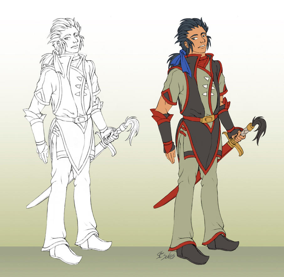 Balthazar concept 3, Formal-Costume1 by Taleea