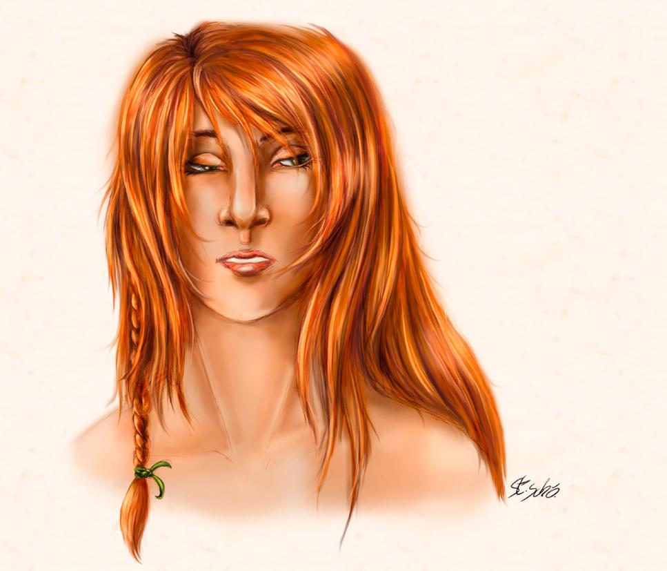 Kitha portrait by Taleea