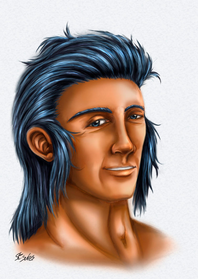 Balthazar portrait by Taleea