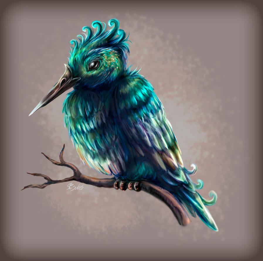 Speedpaint - Lumina Kingfisher by Taleea