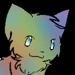Rainbow Kitteh by ItsHarderThanItLooks