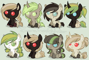 Breedable Foals [dratini12] by SarasAdoptables