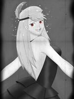 Riza Hawkeye the ditzy Hypnotized Flapper by Syas-Nomis