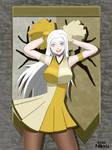 Edelgard Golden Cheerleader