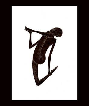 the 4587th yoga posture