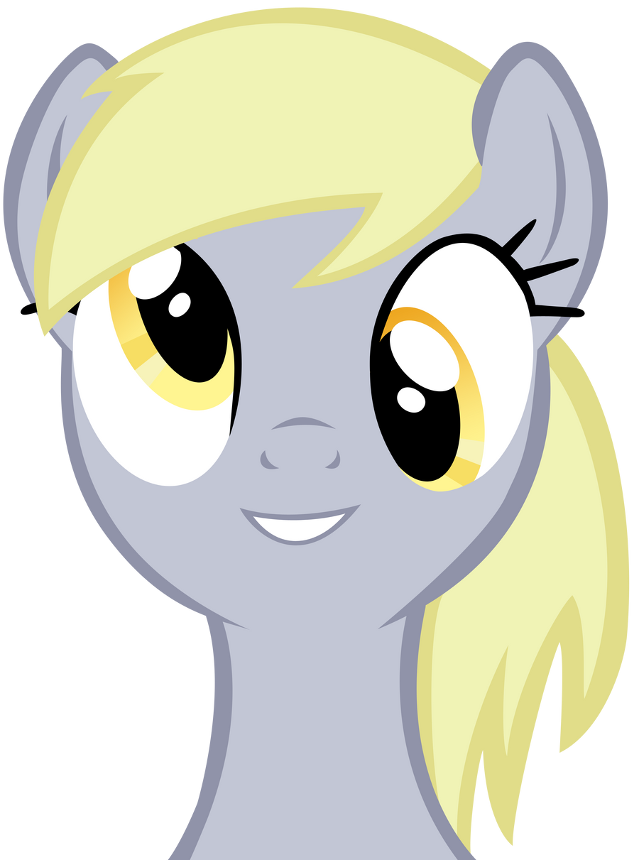 Derpy Hooves Vector by craftybrony on DeviantArt