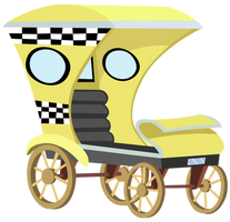 Taxi by craftybrony
