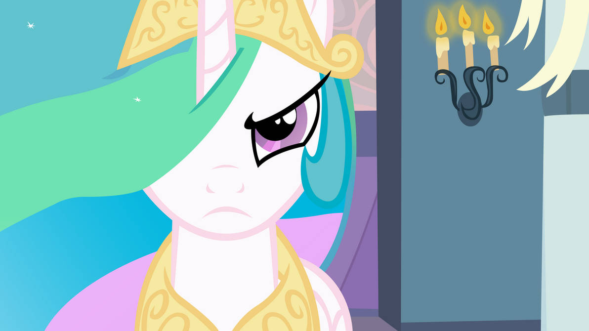 Celestia Will Protect Her Subjects by craftybrony