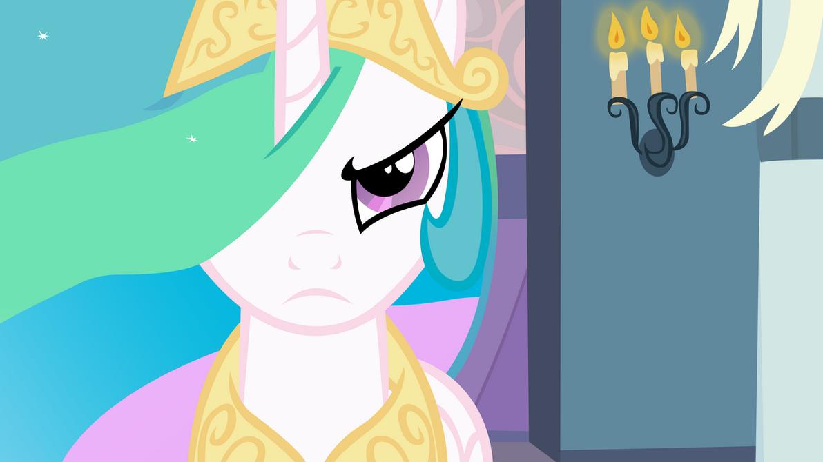 Celestia Will Protect Her Subjects by craftybrony