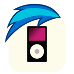 MLP:FiM Vinyl Scratch Mane iPhone Music Icon
