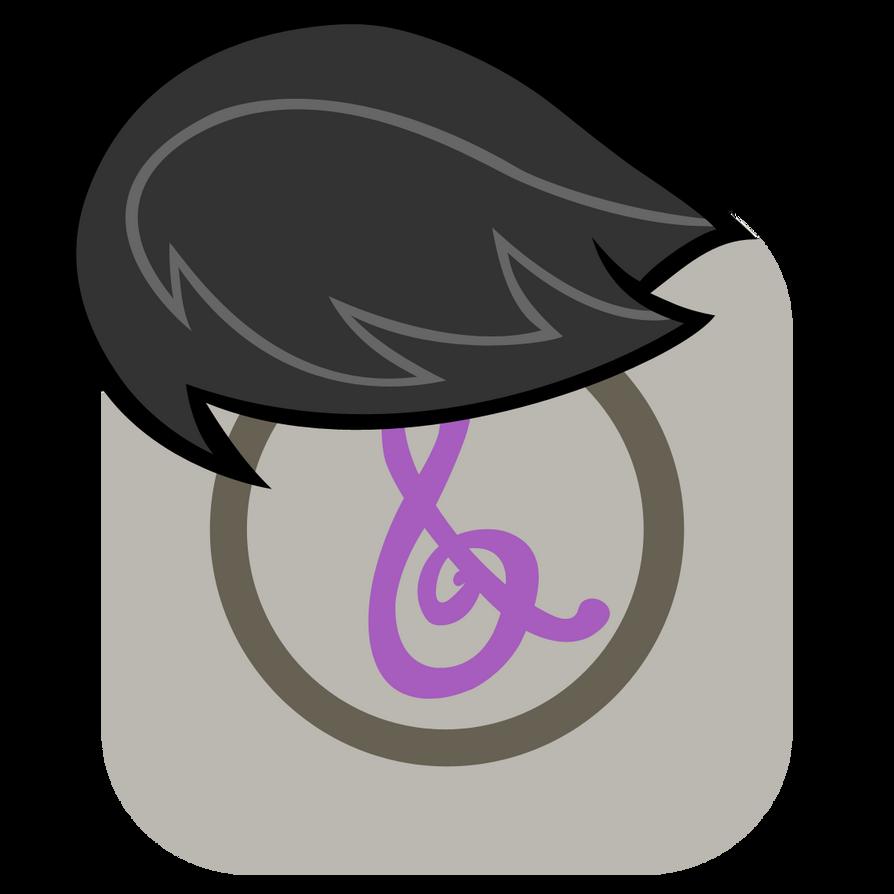 MLP:FiM Octavia Mane iPhone iTunes Icon by craftybrony