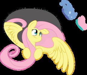 Fluttershy by craftybrony