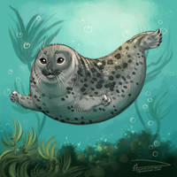 Floaty Sea Potato: Now with Color!