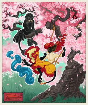Anthro Challenge 166 - Sakura Swing